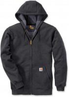 Carhartt Sweatshirt Zip Hooded Sweatshirt Carbon Heather