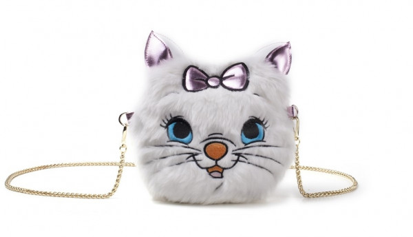Disney Marie Furry Cross Body Bag White