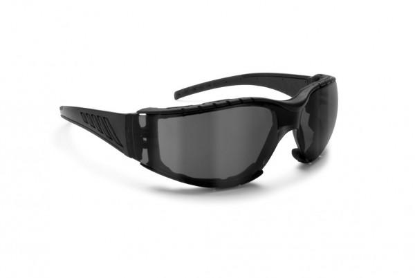 Bertoni Brillen Antifog Af149C Schwarz-Getönt