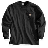 Carhartt Longsleeve Workwear Pocket T-Shirt L/S Black