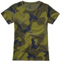 Brandit Damen Ladies T-Shirt Swedish Camo