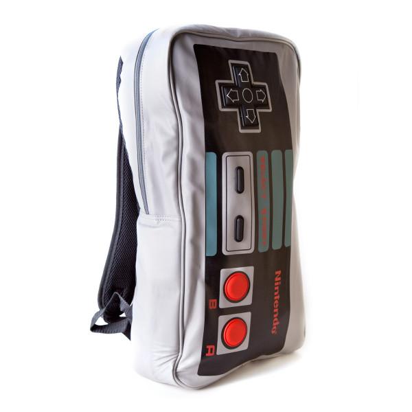 Nintendo Backpack Big NES Controller Backpack Grey
