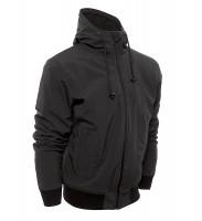 Bores Softshell Jacke Safety 2 Reißfeste Kapuzenjacke Black