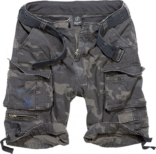 Brandit Shorts Savage Vintage in Darkcamo