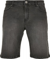 Urban Classics Shorts Relaxed Fit Jeans Shorts Real Black Washed
