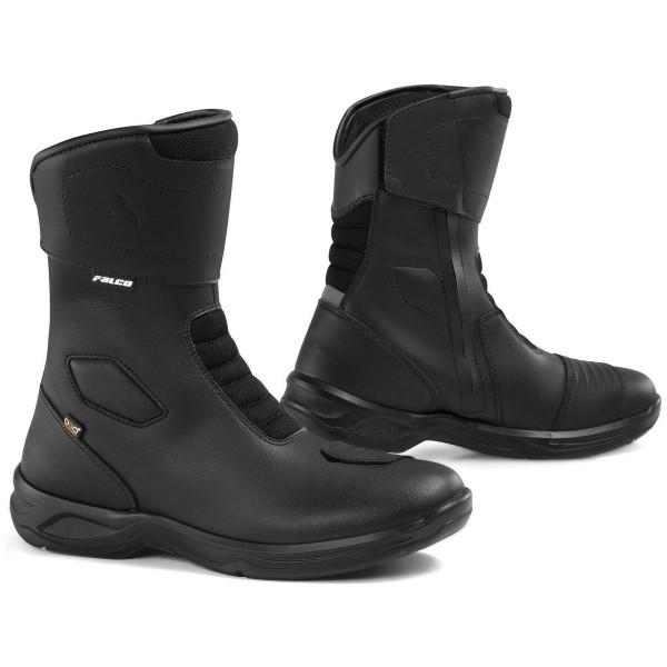 Falco Motorrad Schuh Stiefel Liberty 2.1 Schwarz
