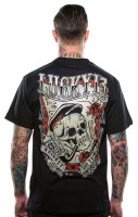 Lucky 13 T-Shirt Whiskey and Tears Black