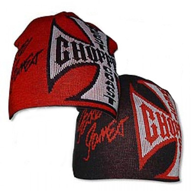 WCC West Coast Choppers Beanie Reversable black/red