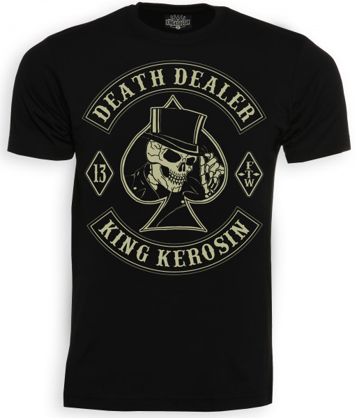 King Kerosin Shirt Death Dealer Black