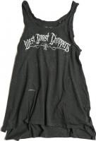 WCC West Coast Choppers Female Shirt Top Vintege Graphite