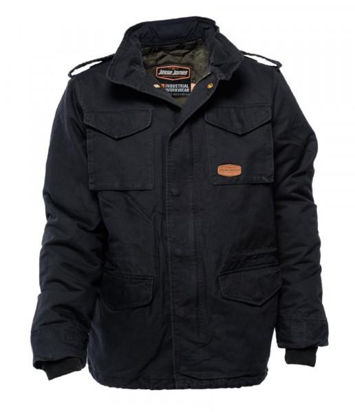 Jesse James Jacket M-65 2 in One Jacket Black