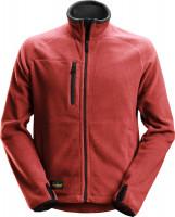 Snickers Workwear AllroundWork Polartec Fleece Arbeitsjacke Chili/Schwarz