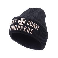 WCC West Coast Choppers Beanie Cross Rib Beanie Black