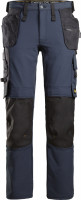 Snickers Workwear AllroundWork Full Stretch Trousers HP Navy/Schwarz