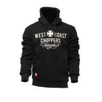 WCC West Coast Choppers Hoodie Motorcycle Co. Hoody Black