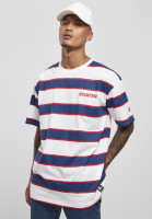 Starter Black Label T-Shirt Starter Logo Striped Tee White/Blue
