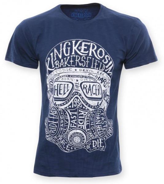 King Kerosin T-Shirt Hellracer Blue
