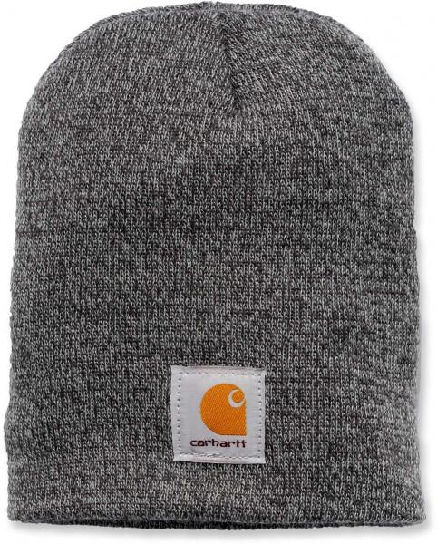 Carhartt Herren Mütze Acrylic Knit Hat Grey/Coal Heather